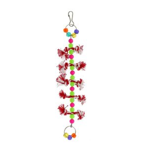 Brinquedo Vertical Dental Para Calopsita Bird Toy