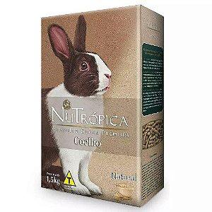 Ração Nutrópica Coelhos Adultos Natural - 1,5kg