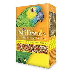 Farinhada Nutrópica para Papagaio Mel Ovos e Frutas- 300g
