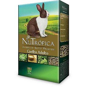 Ração Nutrópica Coelhos Adultos Natural - 500 g
