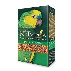 Ração Nutrópica para Papagaio Com frutas - 1,2kg