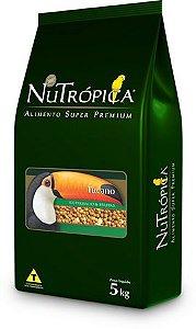 Ração Nutrópica para Tucano Com Frutas 5kg