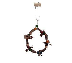 Brinquedo Para Aves Circulo P Toy For Bird