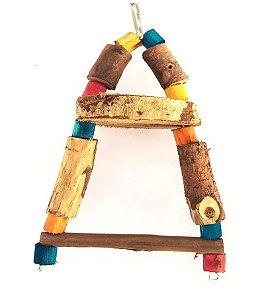 Brinquedo Para Aves Triângulo P Toy For Bird