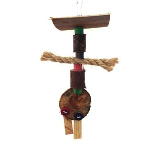 Brinquedo De Maderia Para Aves Toy Toy For Bird