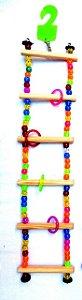 Brinquedo Escada Miçanga G Para Aves Big Toys