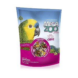 Alimento Integral Para Papagaio  Megazoo Mix  350g