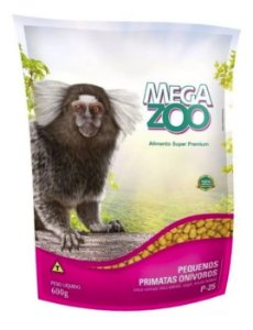 Alimento Extrusado Para Primatas Onivoros Megazoo (P25) 600g