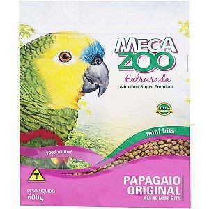 Alimento Extrusado Para Papagaio Megazoo Mini Bits (AM16) 600g