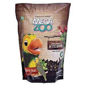 Alimento Extrusado Integral Para Papagaio Megazoo 600g