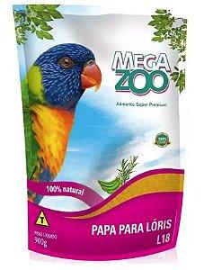 Alimento Papa 100% Natural Para Lóris Megazoo (L18) 900g