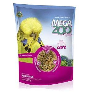 Alimento Integral Para Periquitos Megazoo Mix  350g