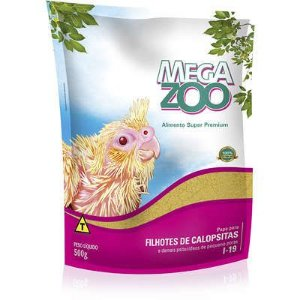 Alimento Papa Para Filhotes De Calopsitas Megazoo (I19) 500g