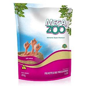 Alimento Papa Para Filhotes De Passaros  Megazoo (I25) 280g