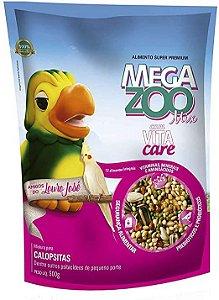 Mix de Sementes Loro José Para Calopsita Megazoo - 500g