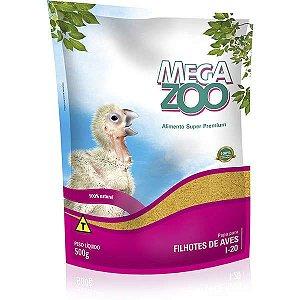 Alimento Papa Para Filhotes De Aves Megazoo (I20) 500g