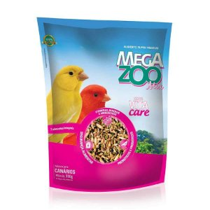 Alimento Integral Para Canários Megazoo Mix 350g