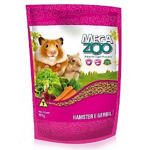 Alimento Extrusado Megazoo Para Hamster E Gerbil 900g