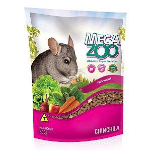 Alimento Extrusado Megazoo Para Chinchila 500g