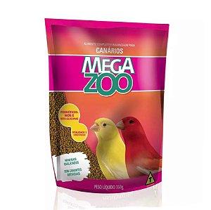 Alimento Extrusado Para Canários Megazoo 350g