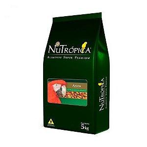 Ração Nutrópica Natural Com Frutas Para Arara - 5kg
