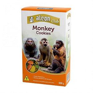 Alimento Extrusado Completo Para Primatas Alcon Monkey Cookies 600g