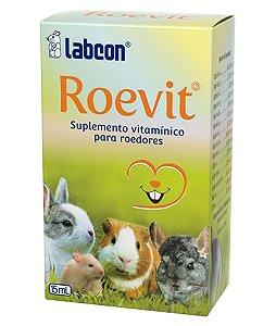 Suplemento Vitamínico Para Roedores Labcon Roevit 15ml