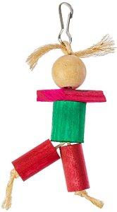 Brinquedo Boneco Anti-stress Para Aves Still Pet