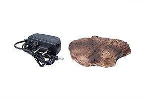 Pedra Aquecida Para Repteis Com Controle De Temperatura Terrestre Tropical