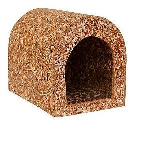 Casinha Ecológica Para Mini Coelhos Chinchilas
