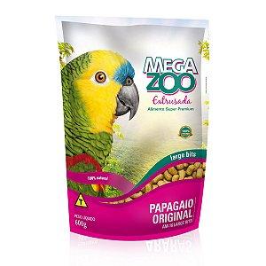 Alimento Extrusado Para Papagaio Megazoo Large Bits (AM16) 600g