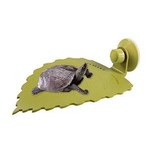 Deck Folha Para Aquaterrário De Tartaruga Nomoy Pet G