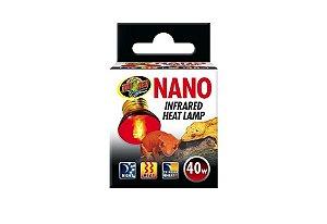 Lampada de Aquecimento UVA Nano Infrared Para Répteis ZooMed 40w