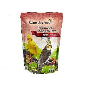 Alimento Extra Gold Calopsita Frutas 400g