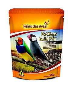 Alimento Para Aves Gold Mix Exoticos 500g