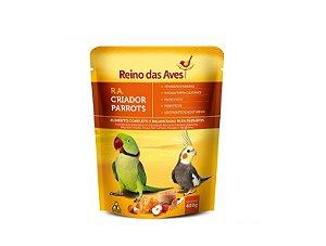 Alimento Psitacideos Em Reprodução R.A. Criador Parrots 400g