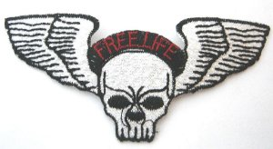 Patch Bordado Termocolante Free Life