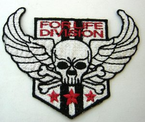 Patch Bordado Termocolante For Life Division