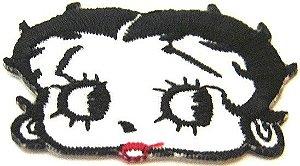 Patch Bordado Termocolante Betty Boop