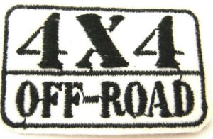 Patch Bordado Termocolante Off Road