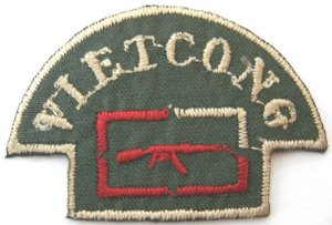 Patch Bordado Termocolante Vietcong