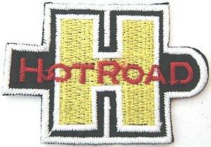 Patch Bordado Termocolante Hot Road