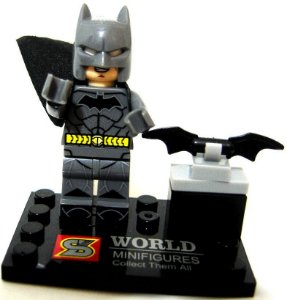 Boneco de Montar Batman estilo Lego