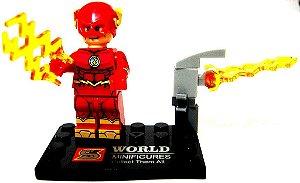 Boneco de Montar De Flash estilo Lego