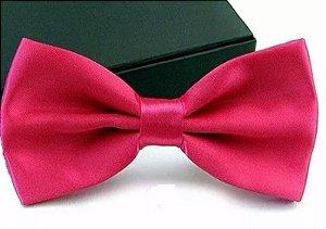 Gravata Borboleta C/ Regulador Pink Adulto e Infantil