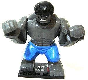 Boneco de Montar Hulk estilo Lego