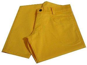 Calça Skinny Amarela