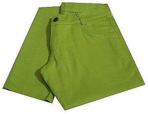 Calça Skinny Verde Limão Vittrini Rock