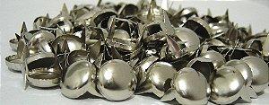 Rebite Tacha Grande Prateada para customização 150 peças