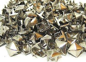 Piramide Prateada Pequena  para customização 500 peças